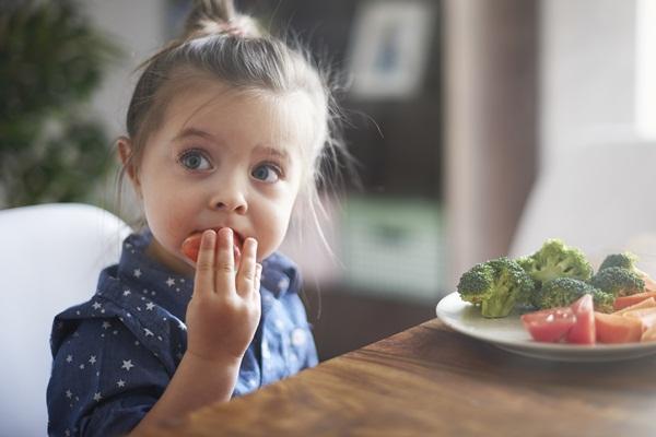 Le verdure nell'alimentazione dei bambini