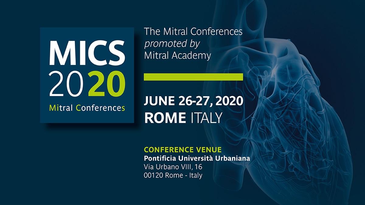 Mics 2020: a Roma 26 e 27 giugno il meeting mondiale sulla chirurgia mitralica