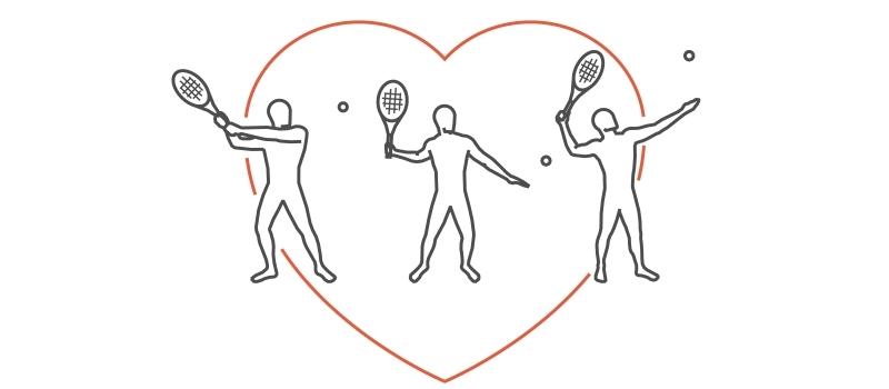 Tennis, nuoto e aerobica: gli sport che fanno stare il cuore in salute