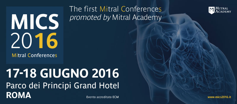 MICS 2016 - The Mitral Conferences