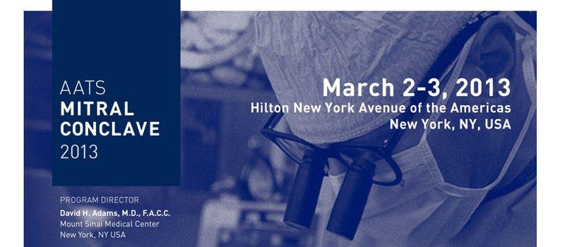 Cardiochirurghi GVM invitati al Mitral Conclave 2013 di New York