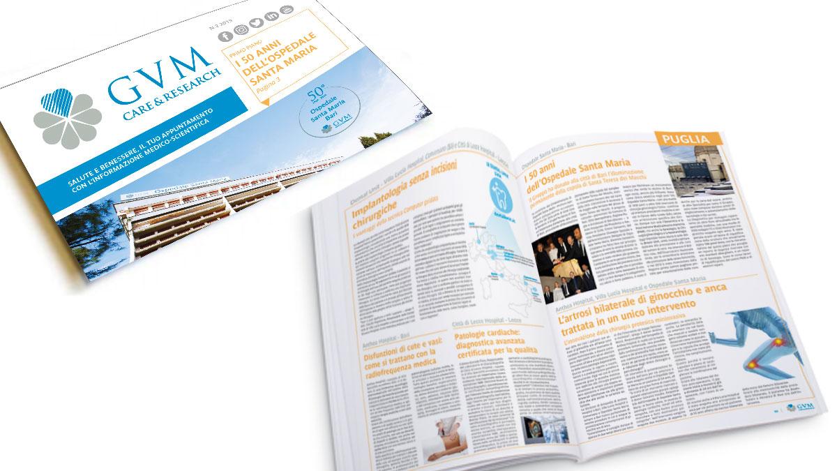 Il Magazine GVM: l'appuntamento con l'informazione medico-scientifica