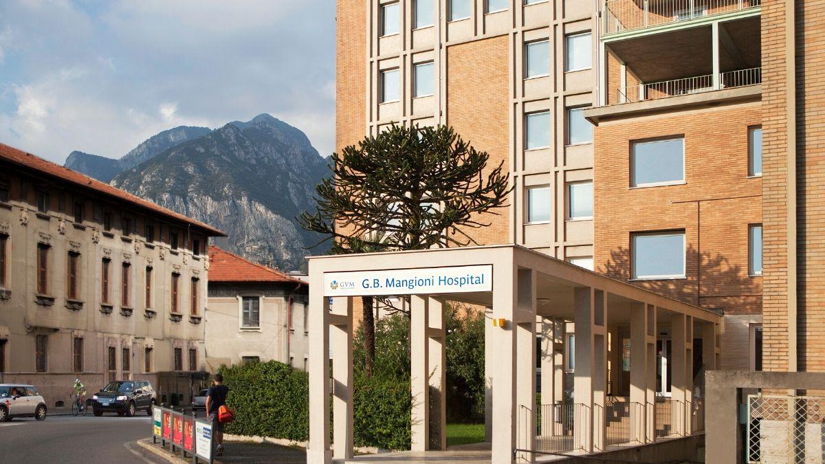 G.B. Mangioni Hospital: 70 posti letto per l'emergenza  Covid-19