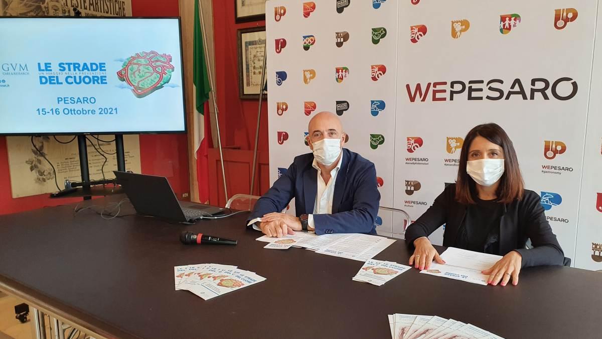 Il viaggio sulle Strade del Cuore fa tappa a Pesaro